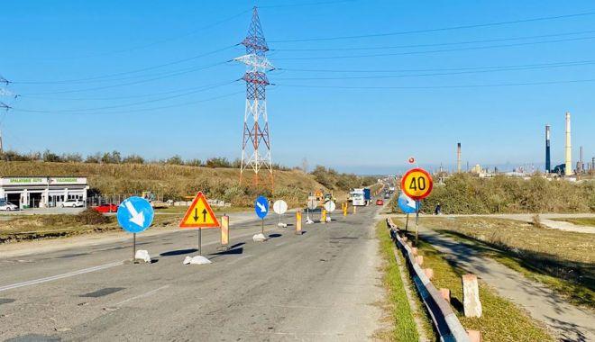Foto: Au început lucrările pentru reabilitarea și modernizarea drumului spre Corbu