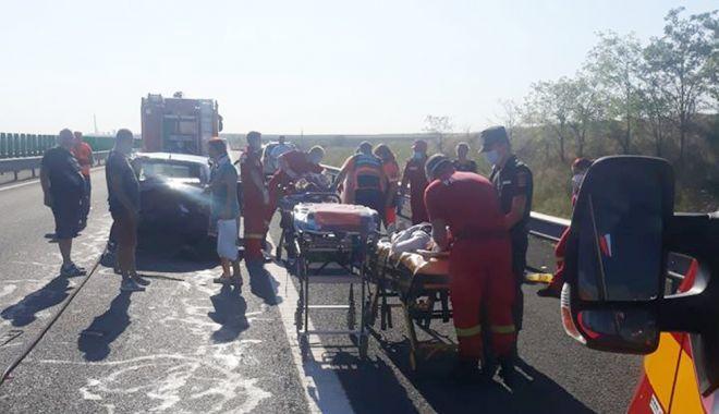 ACCIDENT GRAV, pe Autostrada Soarelui, spre litoral! 9 victime au ajuns la spital! - 9iulieaccida2sursadrdpcta1-1594275759.jpg