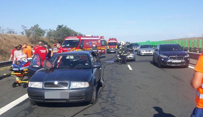 ACCIDENT GRAV, pe Autostrada Soarelui, spre litoral! 9 victime au ajuns la spital! - 9iulieaccida2sursadrdpcta2-1594275799.jpg