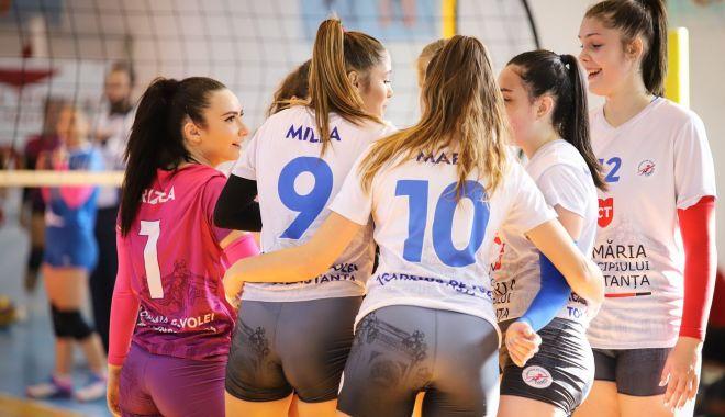 Foto: Academia de Volei Tomis a înregistrat a treia victorie în Divizia A2