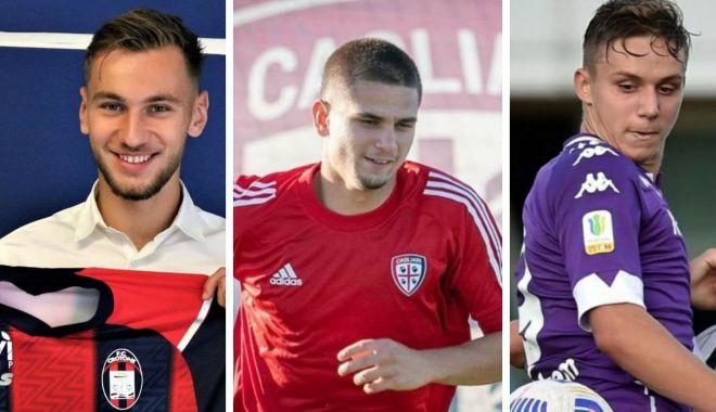 Foto: Fotbal / Trei jucători formați la Academia Hagi, la echipe din Serie A