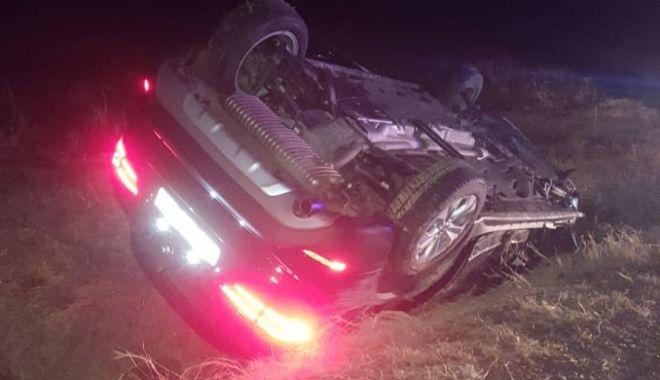 Foto: Șoferul care a provocat tragedia de azi dimineață, reținut pentru 24 de ore