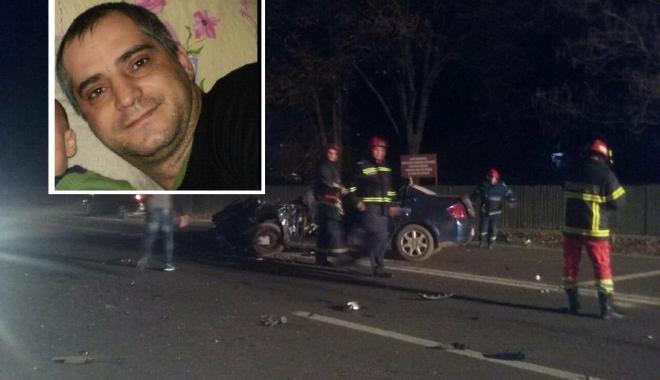 Foto: Cum s-a petrecut accidentul mortal de la Valu. Un jandarm constănțean, decedat