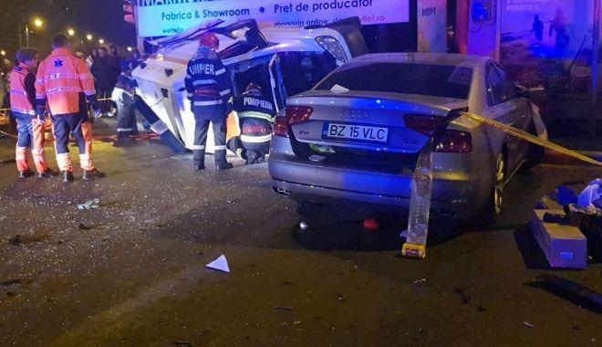 ACCIDENTUL SERII, la Constanța. Sunt 4 VICTIME. Poliția și ambulanța, la fața locului. GALERIE FOTO / VIDEO - acc2-1580321078.jpg