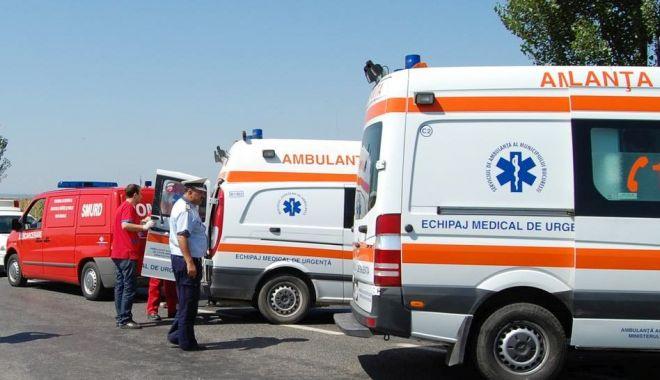 GRAV accident rutier, la ieșire din Constanța! Sunt patru victime! Intervin ambulanțele - accident-1526810429.jpg