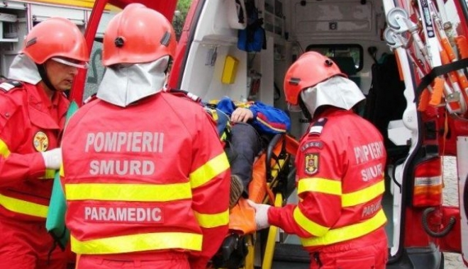 Foto: Accident pe drumul dintre Constanța și stațiuni