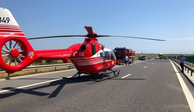 Accident grav la Constanţa. Intervine elicopterul SMURD - accident-1622372622.jpg