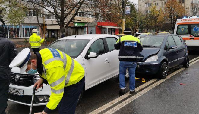 GALERIE FOTO. Carambol cu patru maşini, în Constanţa - accident1-1607339704.jpg