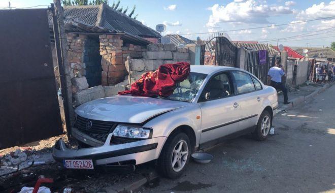 Foto: Minorul care a provocat tragedia rutieră din Medgidia a fost arestat