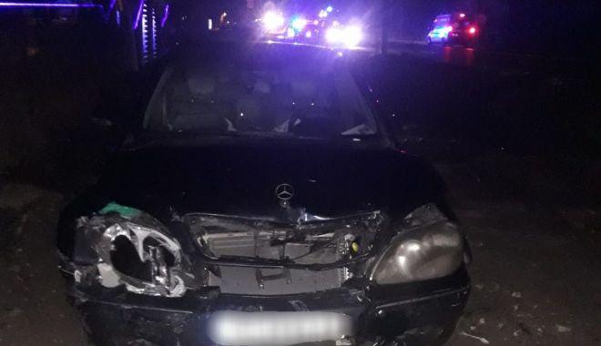 Foto: Accident la Eforie. A condus beat și cu permisul suspendat