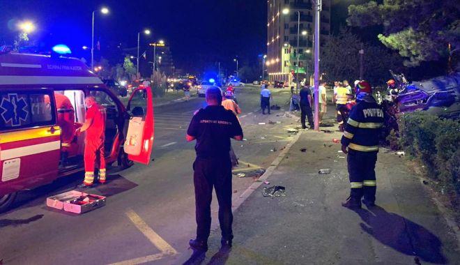 Foto: Zi neagră pe străzile Constanței: un mort și mai mulți răniți