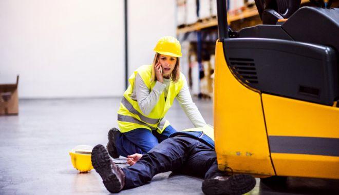 Foto: Două accidente de muncă. Anchetele, în plină desfășurare