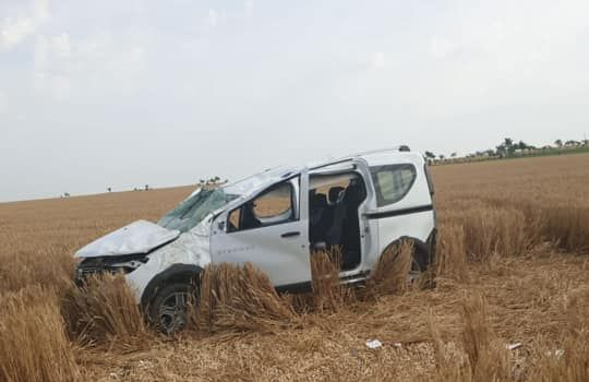 Accident rutier grav, în Constanța. Mașină răsturnată, patru răniți! - accmovilita-1561011627.jpg
