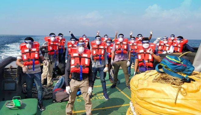 Foto: Acord internațional pentru deblocarea schimburilor de echipaje