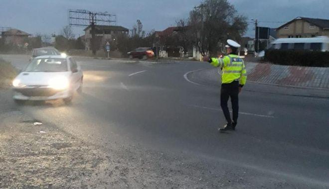 Foto: Razie pe șoselele din Constanța. Câți șoferi au rămas fără permis de conducere