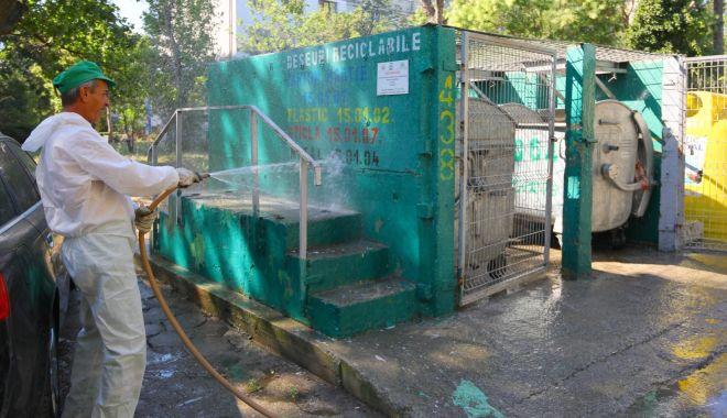 Acțiuni de dezinfecție a platformelor de deșeuri, în municipiul Constanța - actiunidedezinfectie2-1596822873.jpg