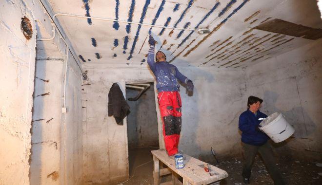 Foto: Adăposturile antiaeriene din Constanța, reabilitate