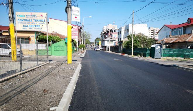 Foto: Alte opt străzi din două cartiere constănțene, reabilitate