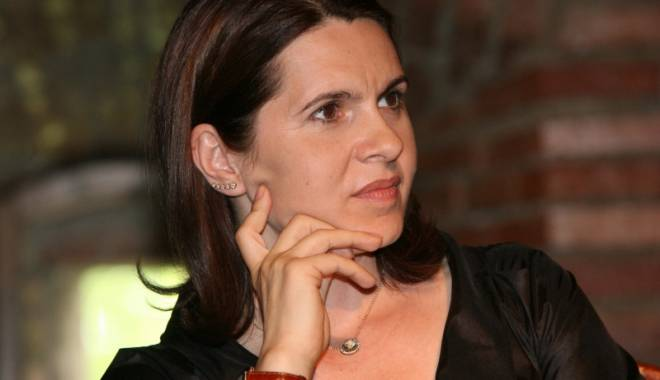 Foto: Adriana Săftoiu, prim-vicepreședinte al PNL pe partea de comunicare