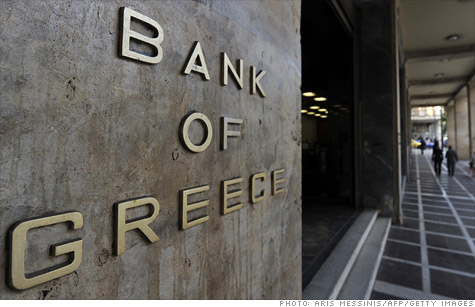 Foto: Alarmă în sistemul bancar al Greciei