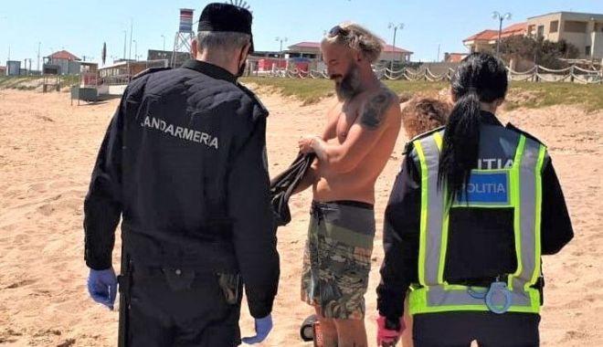 """Foto: Fenomenul infracțional de la malul mării, din această vară: țepele cu """"alba-neagra"""""""