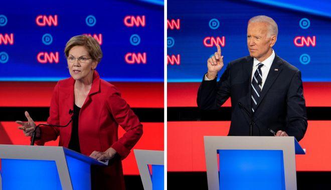Foto: Alegeri primare democrate în SUA. Warren și Biden, pe primele locuri în sondaje