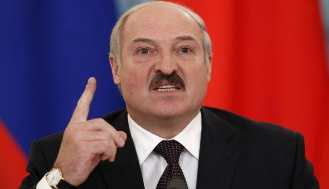 Foto: Aleksandr Lukașenko, reales pentru a șasea oară președintele Belarusului, cu aproape 80% din voturi