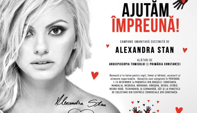 Alexandra Stan demarează campania