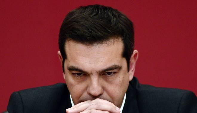 Foto: Criza din Grecia. Alexis Tsipras și-a anunțat demisia!