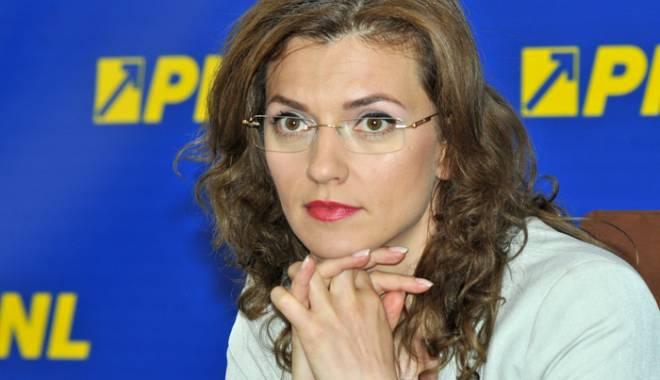 Foto: Copreședintele PNL Alina Gorghiu vine la Constanța!