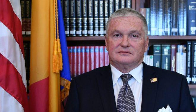 Anunţ important al ambasadorului SUA la Bucureşti - ambasadorsua-1607104470.jpg