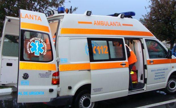 Foto: Polițist urmărit la ieșirea dintr-un club și înjunghiat, în fața spitalului