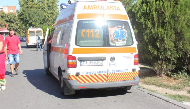 Foto: Accident rutier la Năvodari, soldat cu o victimă