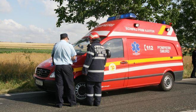 Accidentul cu ambulanța răsturnată la Medgidia, în atenția ITM - ambulantarasturnata-1612982344.jpg