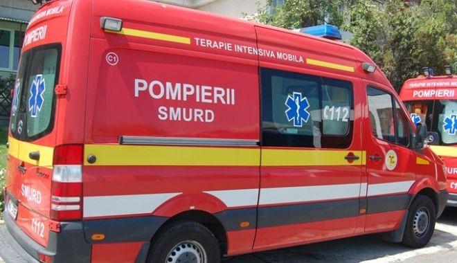 Foto: Accident în municipiul Constanța. O fetiță a fost rănită