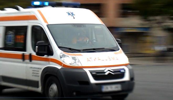 Foto: O persoană încarcerată, la Constanța, în urma unui accident rutier