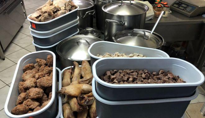 Foto: Amenzi și produse alimentare confiscate din restaurante și supermarketuri