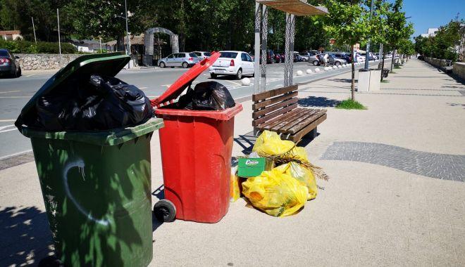 Foto: Amenzi pentru agenții economici care lasă gunoiul la stradă, în Mamaia