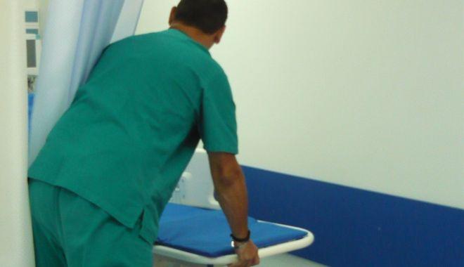Foto: Anchetă la Spitalul Județean Constanța, în contextul Covid-19