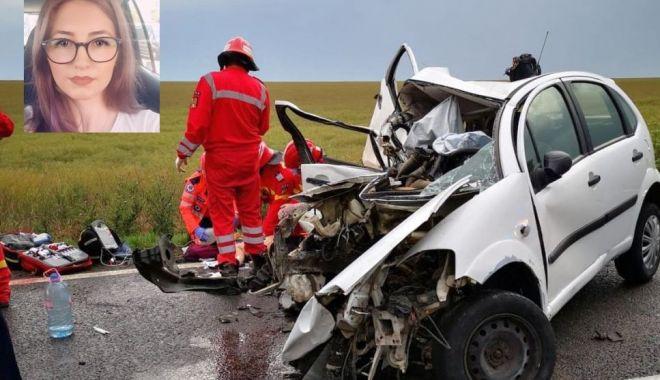 Foto: Cine este șoferița decedată în accidentul de aseară. Peste câteva zile, ar fi fost ziua ei de naștere…