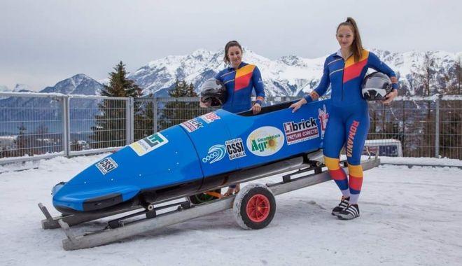Foto: Andreea Grecu și Teodora Vlad iau startul la Campionatele Mondiale