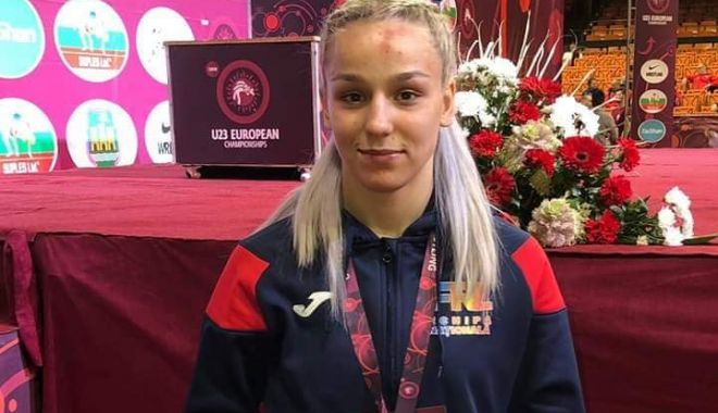 Foto: Andreea Ana, medalie de bronz la Europenele U23