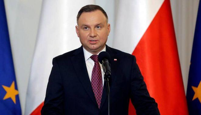 Preşedintele Poloniei cere noi sancţiuni europene împotriva Rusiei - andrzejdudapolandfb-1611514989.jpg