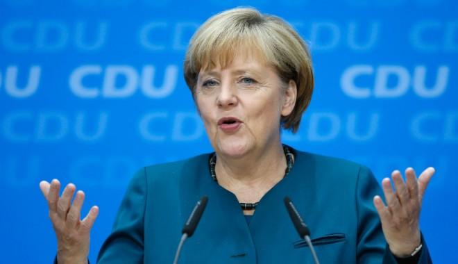 Foto: Angela Merkel a ajuns la un acord de coaliție cu  social-democrații pentru formarea unui Guvern comun