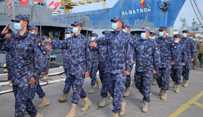 Foto: Aniversare la Forțele Navale Române. Scafandrii de luptă, 40 de ani de tradiție și profesionalism