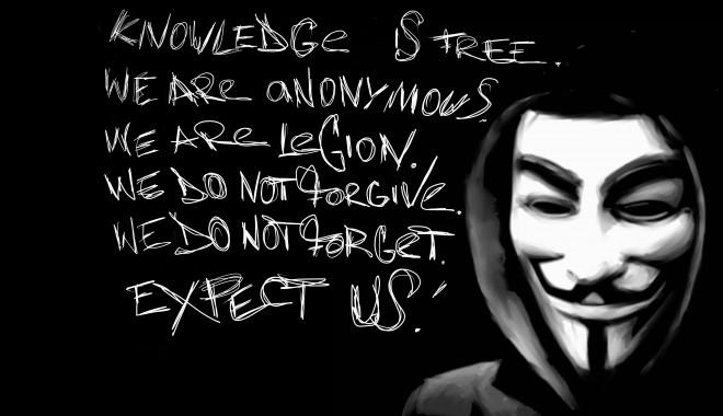 Foto: Anonymous atacă site-ul Guvernului bulgar