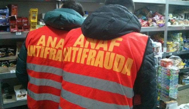 Foto: Antifrauda a dat sancțiuni de 4,14 milioane de lei, în angrouri