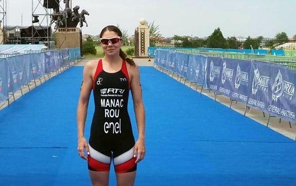 Foto: Antoanela Manac a intensificat antrenamentele pentru Jocurile Olimpice