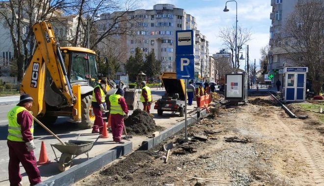 Foto: Bulevardul Tomis se transformă într-o zonă mai sigură pentru constănțeni