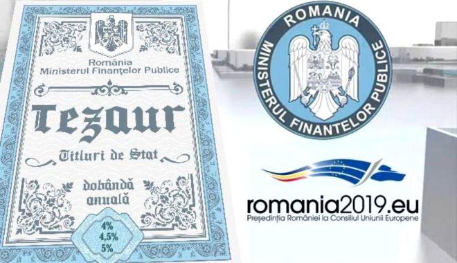 """Foto: Aproape 17.000 de românii au investit peste 700 milioane de lei în titluri de stat """"Tezaur"""""""